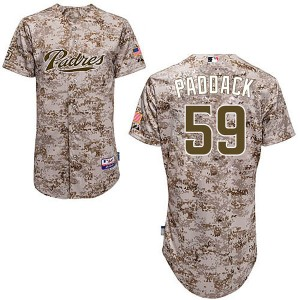 Youth Majestic Chris Paddack San Diego Padres Replica Camo Cool Base Alternate Jersey